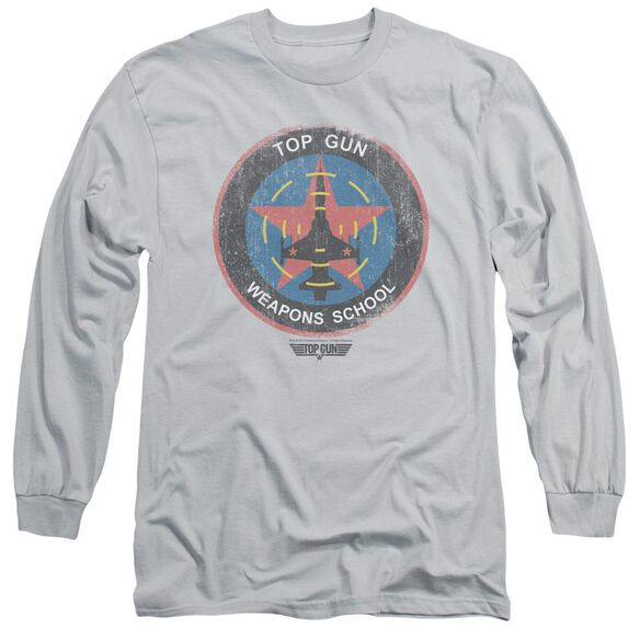Top Gun Flight School Logo Long Sleeve Adult T-Shirt