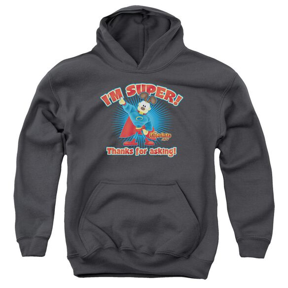 Garfield Super Youth Pull Over Hoodie