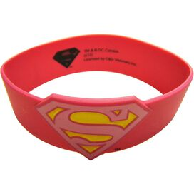 Supergirl Logo Rubber Wristband
