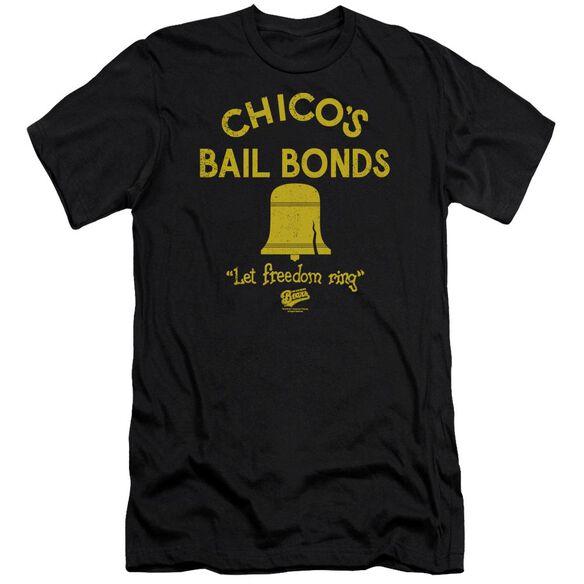 Bad News Bears Chico's Bail Bonds Premuim Canvas Adult Slim Fit