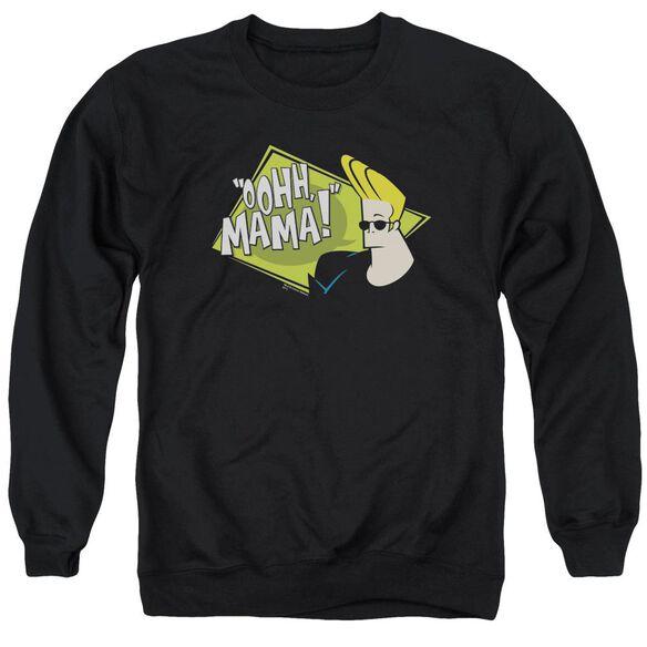 Johnny Bravo Oohh Mama Adult Crewneck Sweatshirt