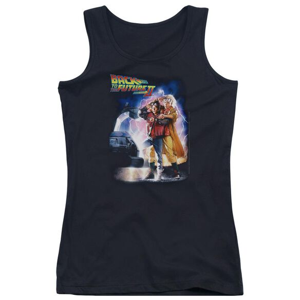 Back To The Future Ii Poster Juniors Tank Top
