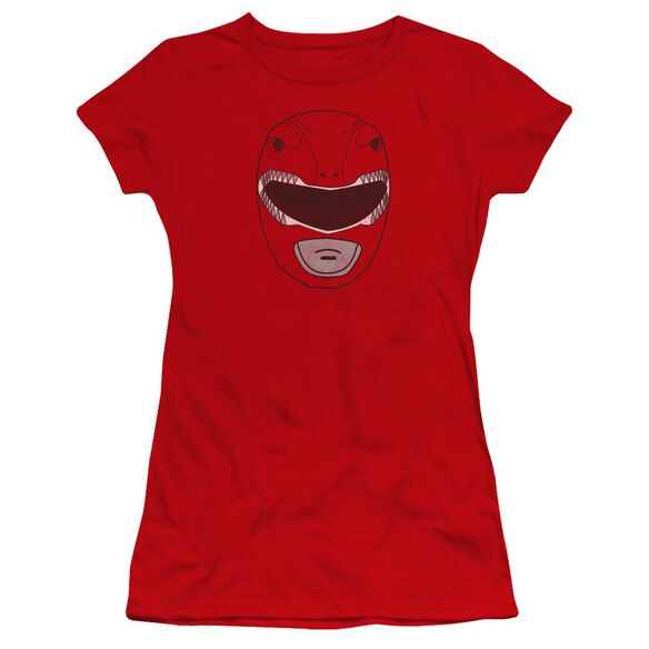 Power Rangers Ranger Mask Premium Bella Junior Sheer Jersey
