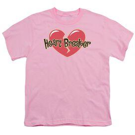 HEART BREAKER - YOUTH 18/1 - PINK T-Shirt