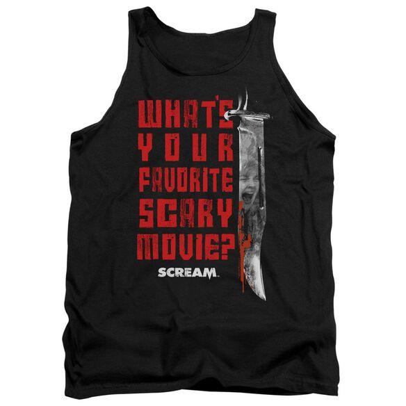 Scream Favorite Adult Tank