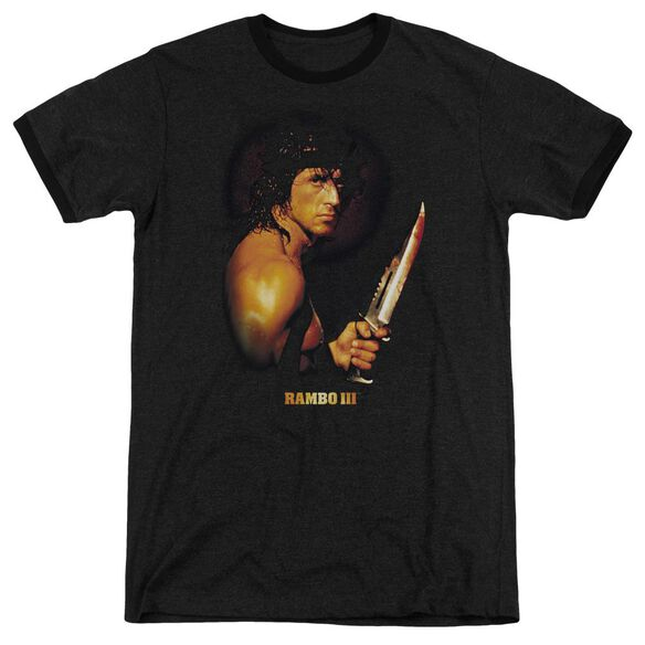 Rambo Iii Blood Lust Adult Heather Ringer Black