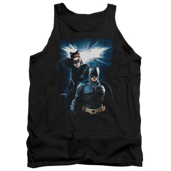 Dark Knight Rises Bat & Cat Adult Tank
