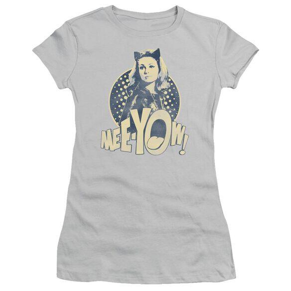 Batman Classic Tv Meeyow! Short Sleeve Junior Sheer T-Shirt