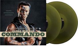 James Horner - Commando Soundtrack [Exclusive Fatigue Green 2LP Vinyl]