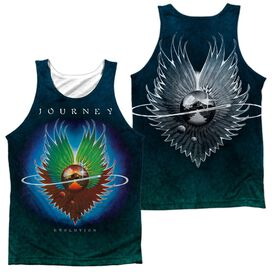 Journey Evolution Sub (Front Back Print) Adult Poly Tank Top