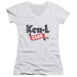 Ken L Ration Ken L Club Junior V Neck T-Shirt