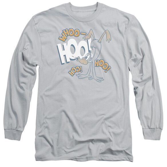 Looney Tunes Daffy Laugh Long Sleeve Adult T-Shirt