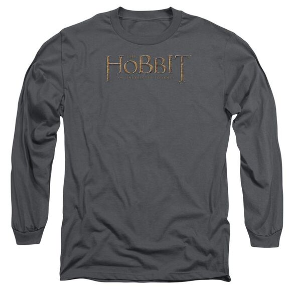 The Hobbit Distressed Logo Long Sleeve Adult T-Shirt