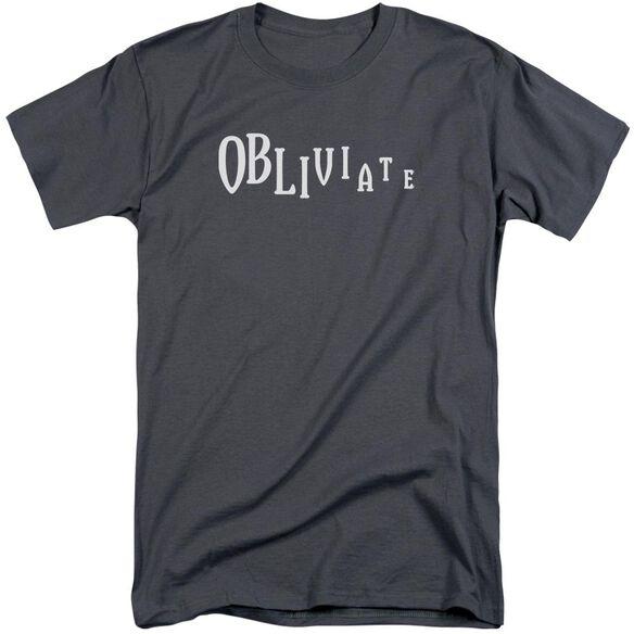 Harry Potter Obliviate Short Sleeve Adult Tall T-Shirt