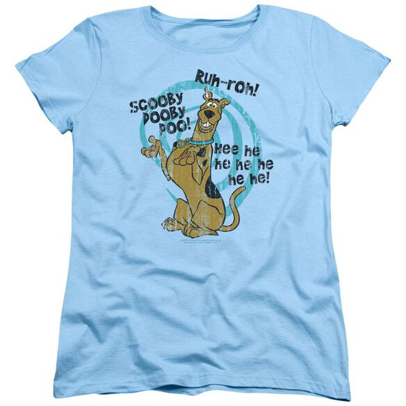 Scooby Doo Quoted Short Sleeve Womens Tee Light T-Shirt