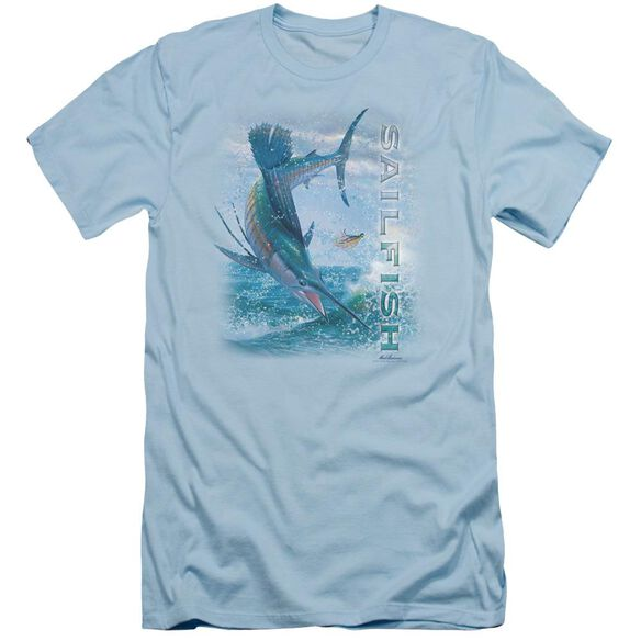 Wildlife Leaping Sailfish Short Sleeve Adult Light T-Shirt