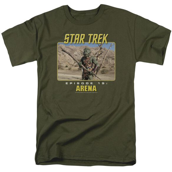 St Original Arena Short Sleeve Adult Military Green T-Shirt
