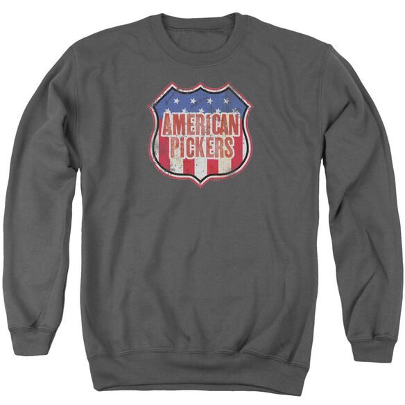 American Pickers Vintage Sign Adult Crewneck Sweatshirt