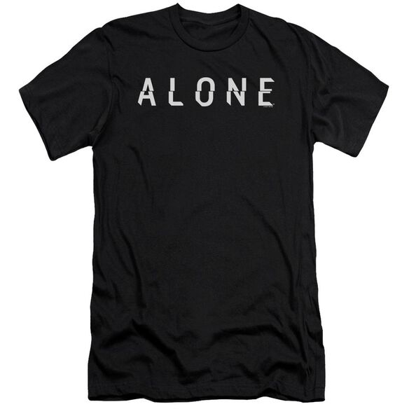 Alone Alone Logo Hbo Short Sleeve Adult T-Shirt