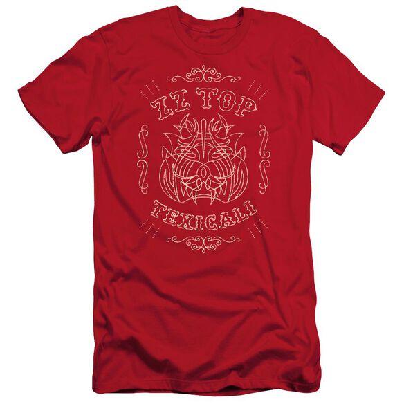 Zz Top Texicali Demon Short Sleeve Adult T-Shirt