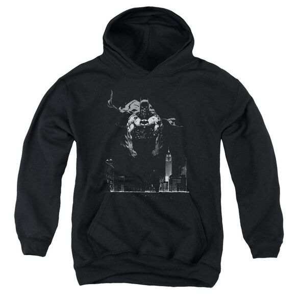 Batman Dirty City Youth Pull Over Hoodie