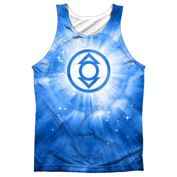Green Lantern Indigo Energy Adult 100% Poly Tank Top