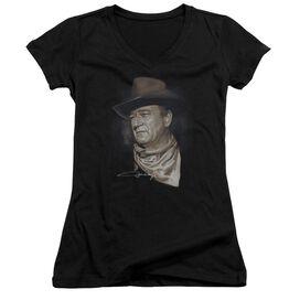 John Wayne The Duke Junior V Neck T-Shirt