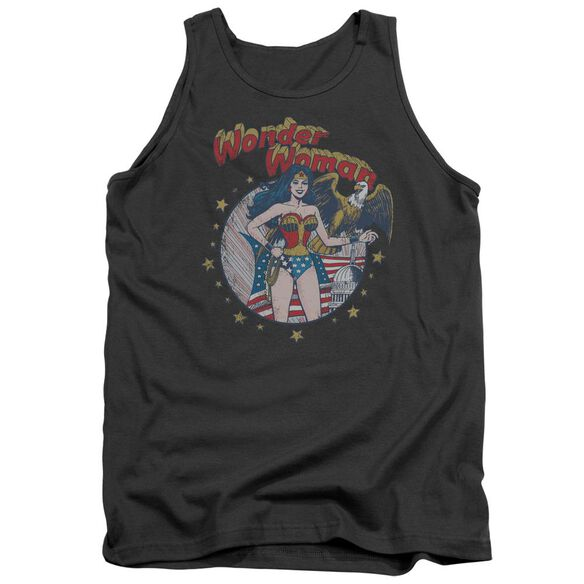 Jla At Your Service Adult Tank