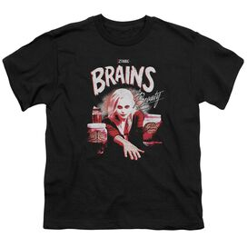 Izombie Brains And Beauty Short Sleeve Youth T-Shirt