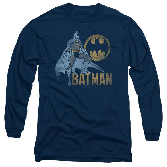 Batman Knight Watch Long Sleeve Adult T-Shirt