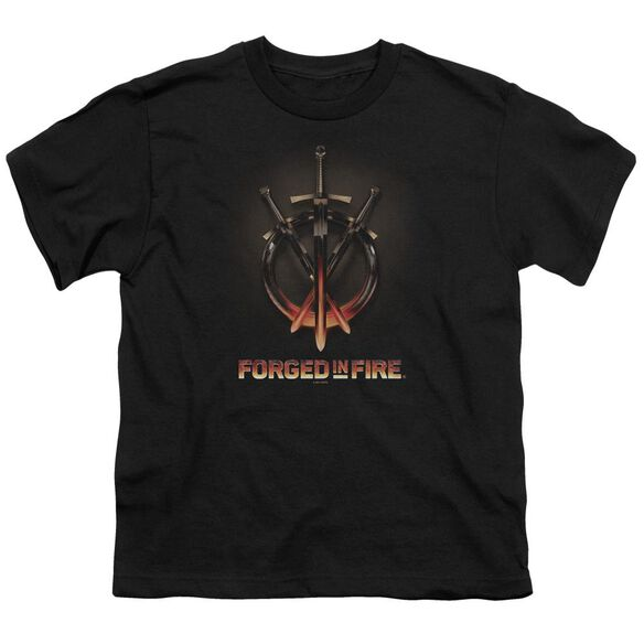 Forged In Fire Swords Short Sleeve Youth T-Shirt