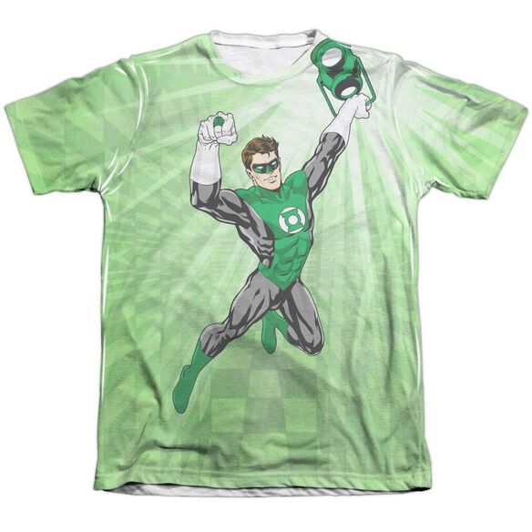 Green Lantern Dynamic Adult 65 35 Poly Cotton Short Sleeve Tee T-Shirt