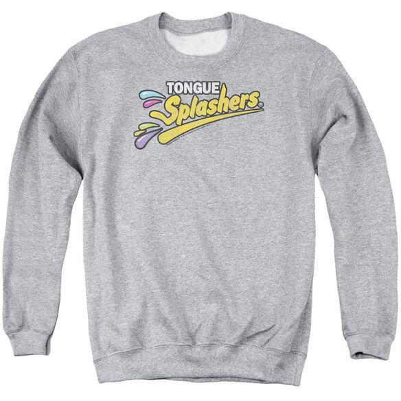 Dubble Bubble Tongue Splashers Logo Adult Crewneck Sweatshirt Athletic