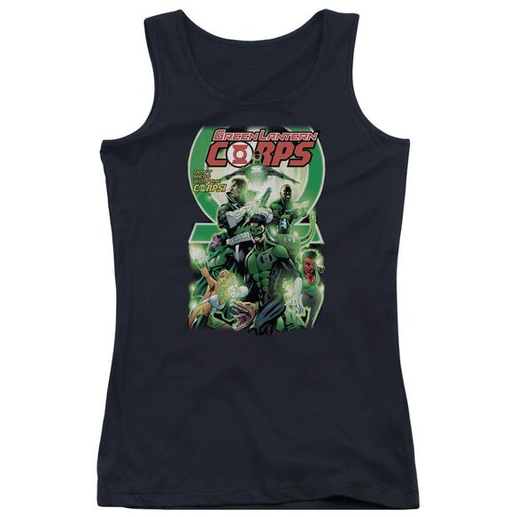 Green Lantern Gl Corps #25 Cover Juniors Tank Top
