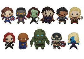 3D Figural Keyring Marvel What If...? Series 1 Marvel Series 1 Mystery Pack
