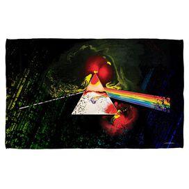 Pink Floyd Dark Side Of The Moon Towel White