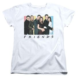 Friends Cast Logo Short Sleeve Womens Tee T-Shirt