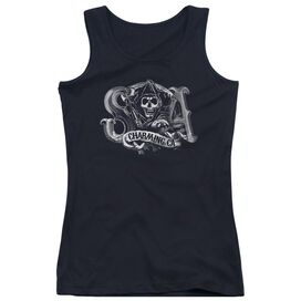 Sons Of Anarchy Charming Ca Juniors Tank Top