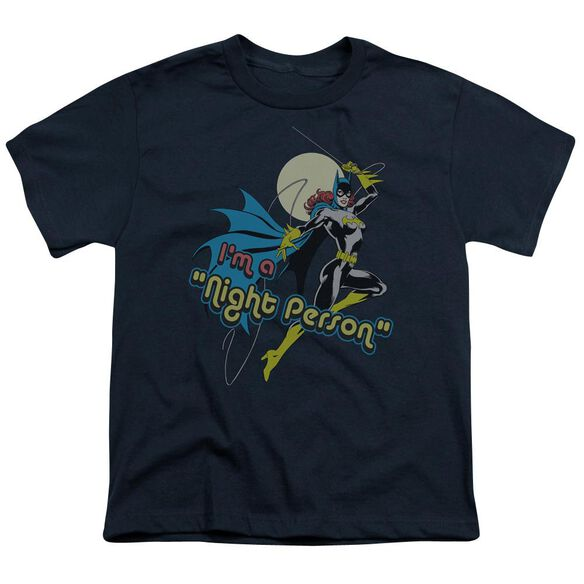 Dc Night Person Short Sleeve Youth T-Shirt