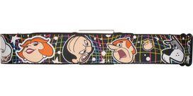 Jetsons Character Heads Seatbelt Mesh Belt