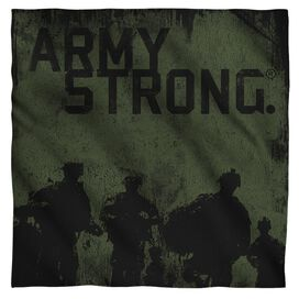 Army Strong Bandana White