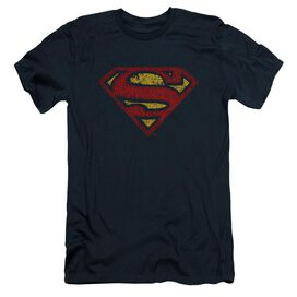 Superman Crackle S Short Sleeve Adult T-Shirt
