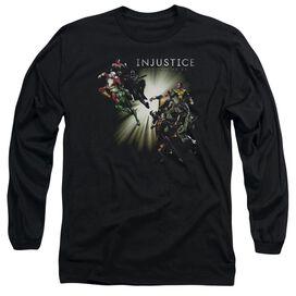 Injustice Gods Among Us Good Vs Evil Long Sleeve Adult T-Shirt