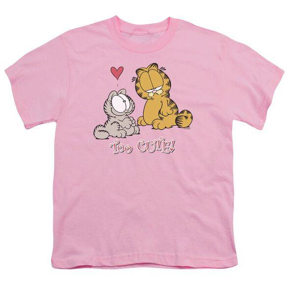 Garfield Too Cute Short Sleeve Youth T-Shirt