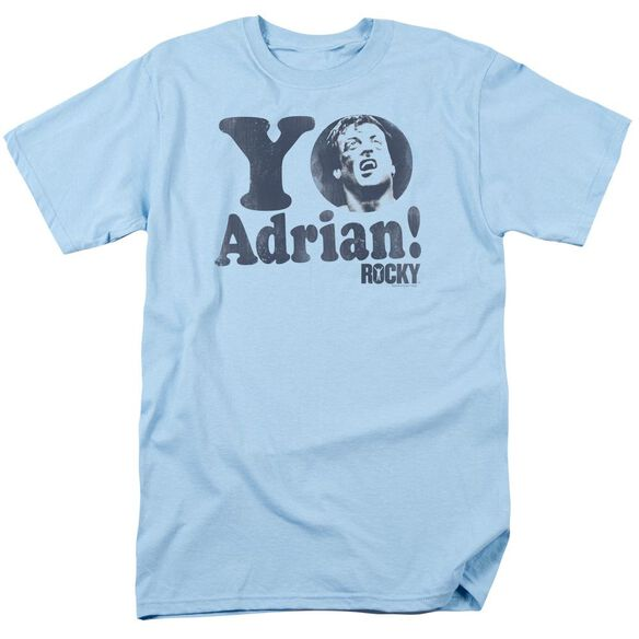 Rocky Yo Adrian Short Sleeve Adult Light T-Shirt
