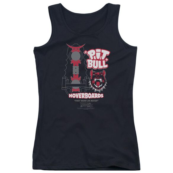 Back To The Future Ii Pit Bull Juniors Tank Top