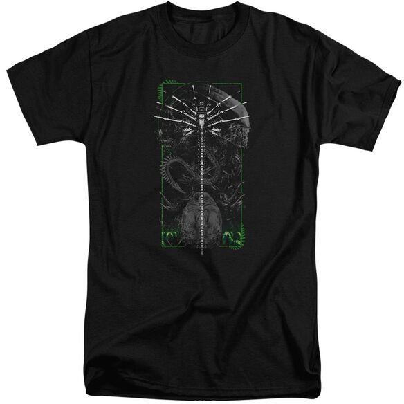 Alien Facehugger Short Sleeve Adult Tall T-Shirt