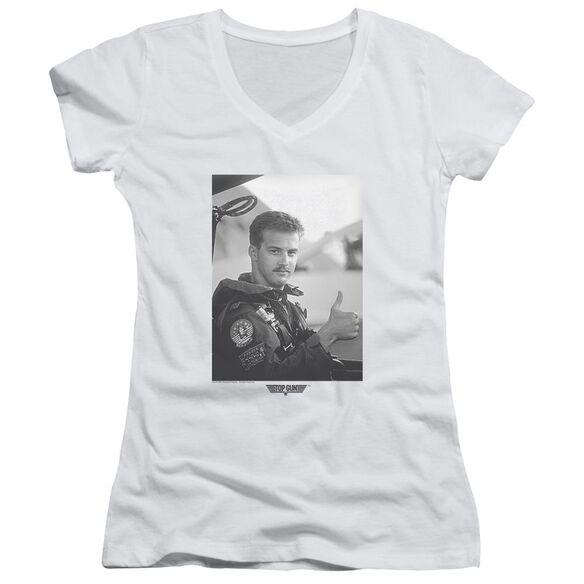 Top Gun My Wingman Junior V Neck T-Shirt