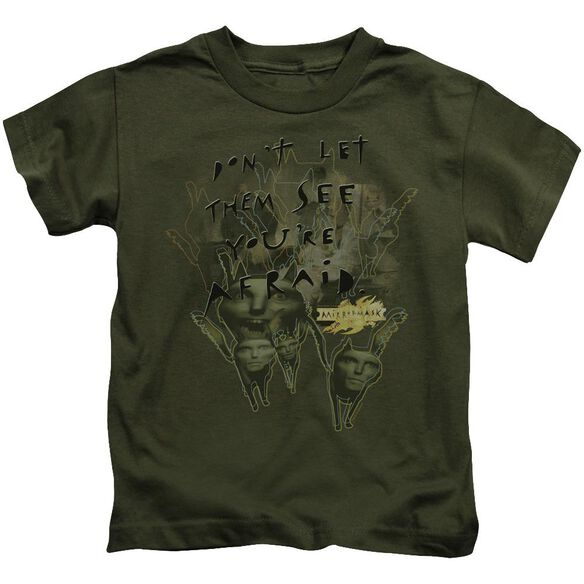 Mirrormask Don't Let Them Short Sleeve Juvenile Military T-Shirt