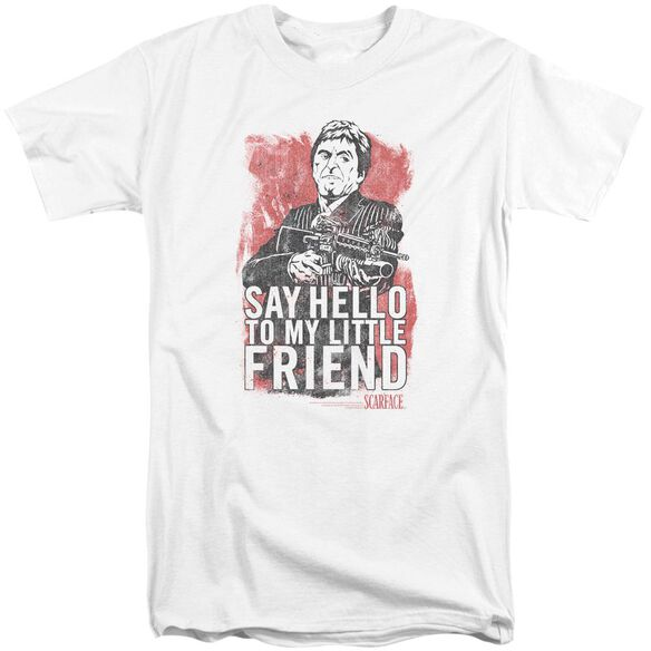 Scarface Little Friend Short Sleeve Adult Tall T-Shirt